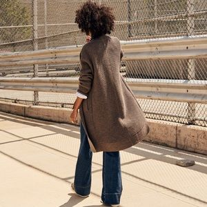 Madewell Fulton sweater coat